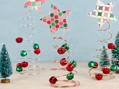 One More Minute: How to Make Wire Tree Holiday Decor