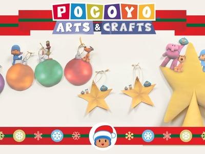Pocoyo Arts & Crafts: Decorate the Christmas Tree! [EP 6]
