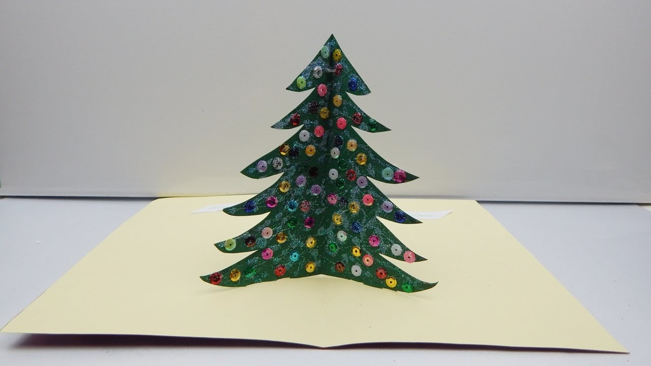Pop Up Card  -  Christmas tree