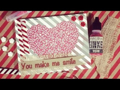 Use Your Christmas Stash to Make a Valentine Card by Christopher Alan for Made It for Maymay