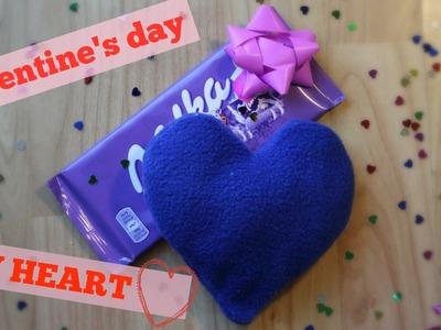 Valentine's Day DIY Heart Pillow | Eszter Kate