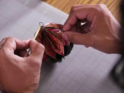 Will Brown, Hallmark Designer: Origami Christmas Ornaments