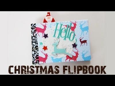 Christmas Pen pal Snail Mail Fllipbook Tutorial #2