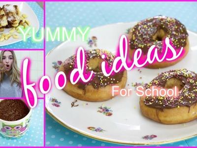DIY Easy Breakfast & Lunch Ideas For School!