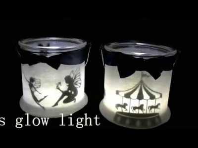 DIY how to make candle holders