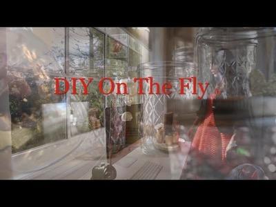 DIY on the Fly Spinning Desk Organizer