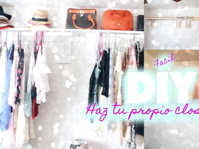 DIY Parchero.Colgador(Facil) Haz tu propio closet