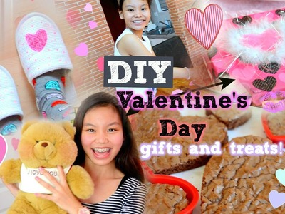 DIY Valentine's Day Gift Ideas! +Treats and Gift Wrapping Tips!♡