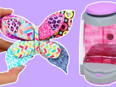 Graphic Skinz Design Studio Playset Fun & Easy DIY Decorate 3D Butterfly & Animal Figures!