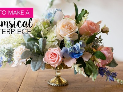 How-to: DIY Whimsical Centerpiece