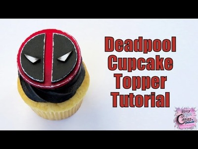 How To Make Deadpool Cupcake Toppers