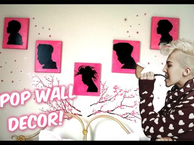 K-DIY Kpop Wall Silhouettes - Home Decor