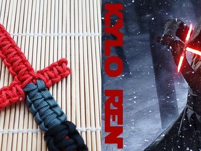 Kylo Ren Lightsaber Paracord Bracelet Tutorial