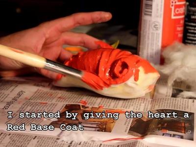 Making a Prop Human Heart DIY by Christopher Koch