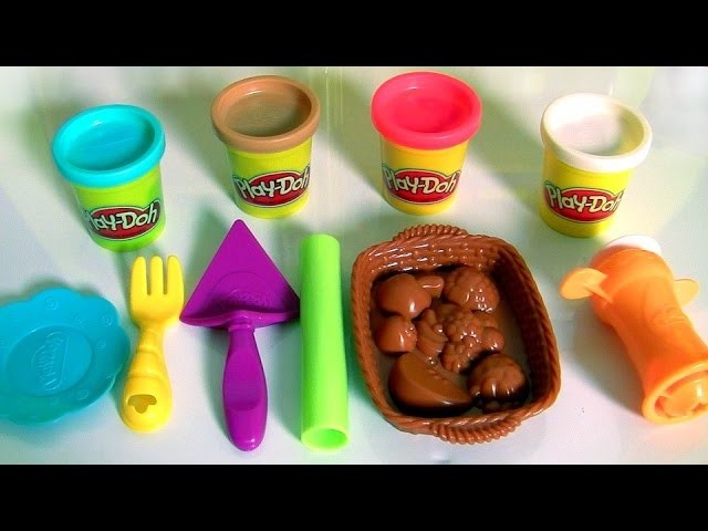 Play Doh Playful Pies DIY Desserts Cherry Pie & Fruit Basket New 2016 by Hasbro