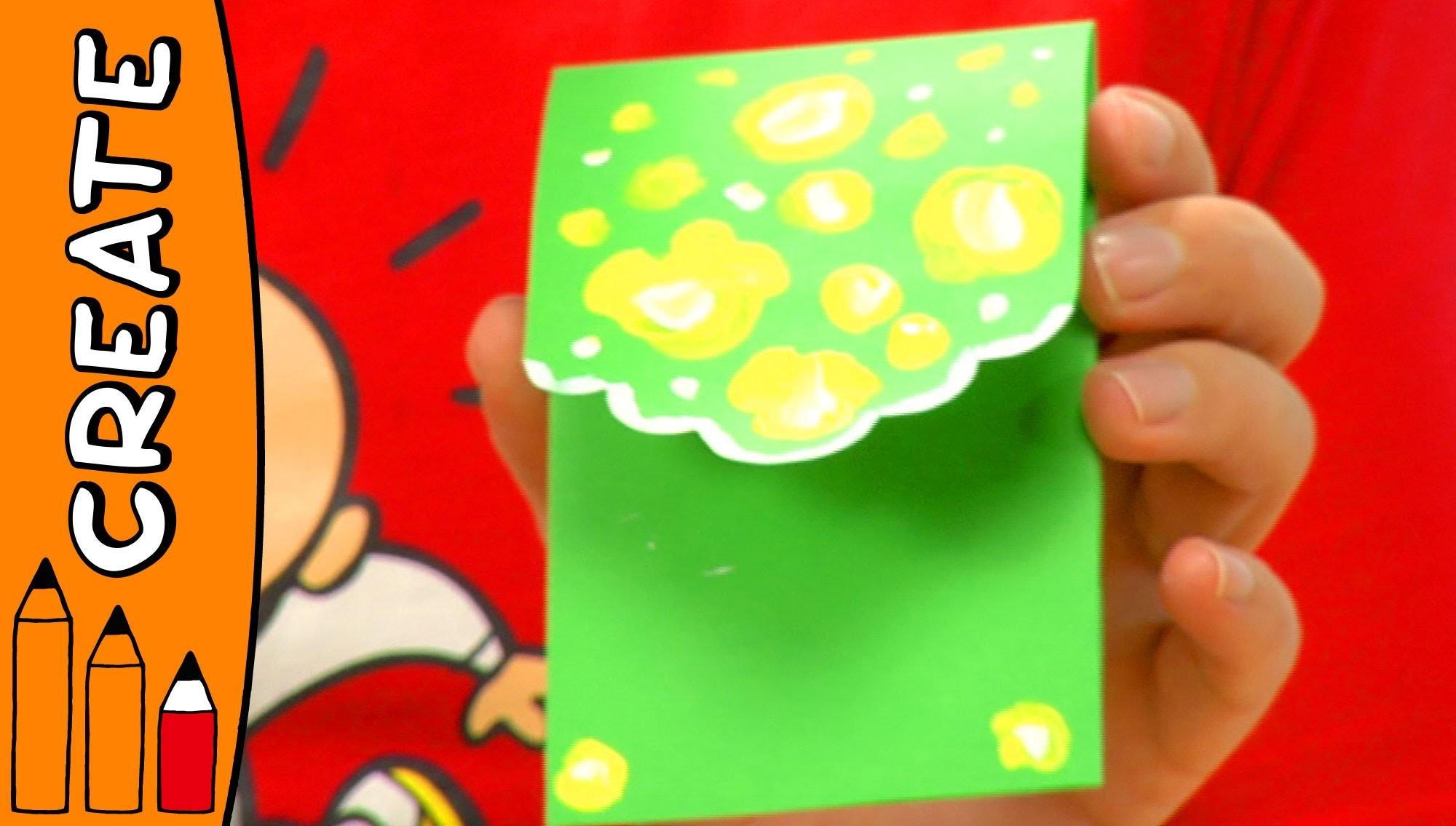 Craft Ideas For Kids - Money Envelope   World Of Art   Øistein Kristiansen