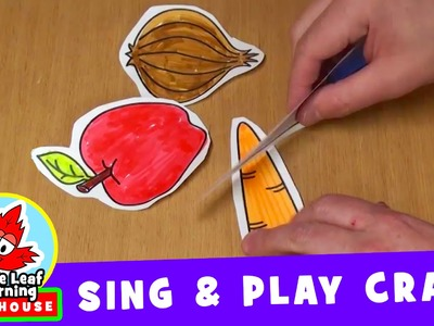 Cut the Carrot | Sing and Play Craft for Kids | Maple Leaf Learning Playhouse