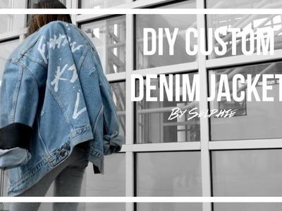 DIY Custom Denim Jacket