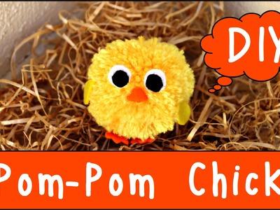 DIY Pom-Pom Chick   Easter DIY
