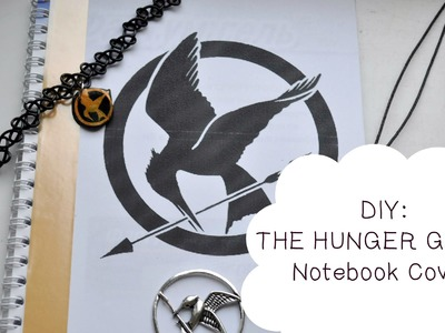 DIY | THE HUNGER GAMES | Notebook Cover