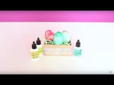 Easter Craft: DIY Color Burst Easter Eggs