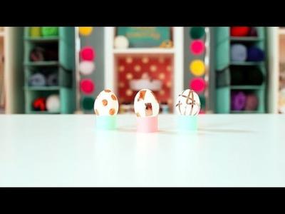 Easter Craft: DIY Foil Easter Eggs