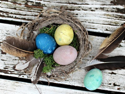 How To Dye Eggs Naturally - An Easter Craft For Kids