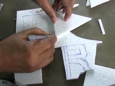 How To Make Pyramid by Paper Cutting Art and Craft part 2