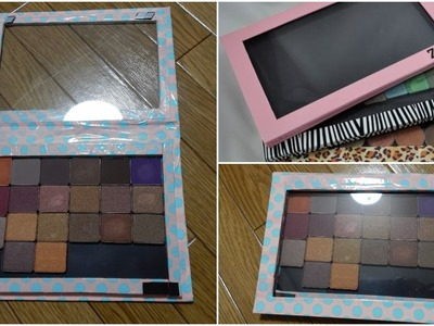 How to make your own Z palette | DIY Z palette | Z palette Dupe