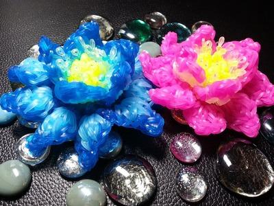 Rainbow Loom 3d Lotus Flower