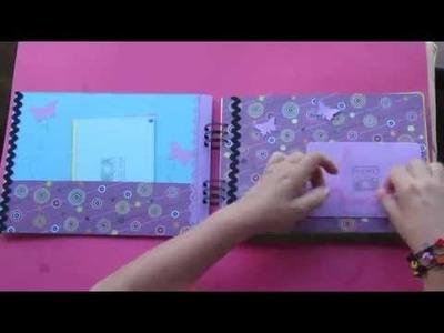 Álbum de encargo para regalo. DIY Scrapbooking