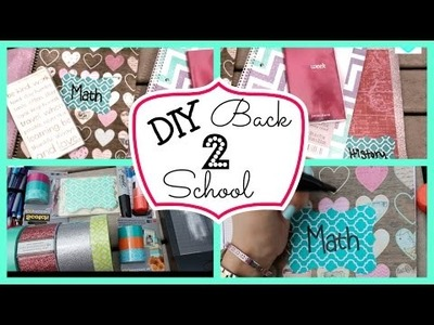 Back to School DIY + School Supplies GIVEAWAY! (CLOSED)