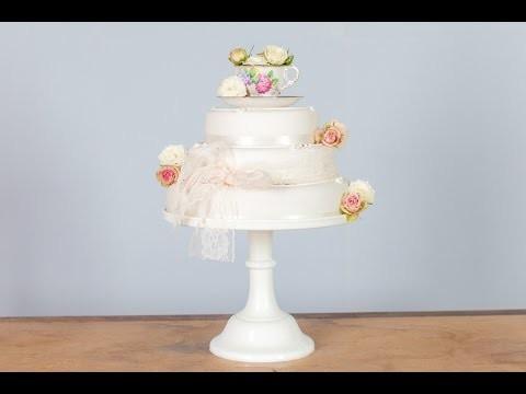 Budget DIY Wedding Cake Ideas