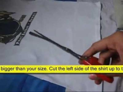 D.I.Y.: T-shirt to Long Sleeves Bolero