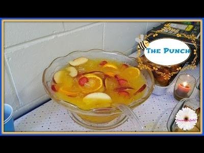DIY: BabyShowerPrep 4 of 5 - The Punch Drink