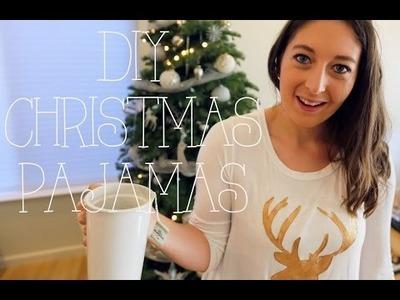 DIY Christmas Pajamas!!