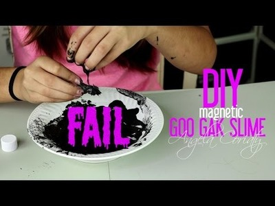 DIY FAIL -How to Make Magnetic Goo - Gak - Slime with Starch