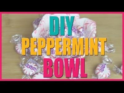DIY Peppermint Bowl