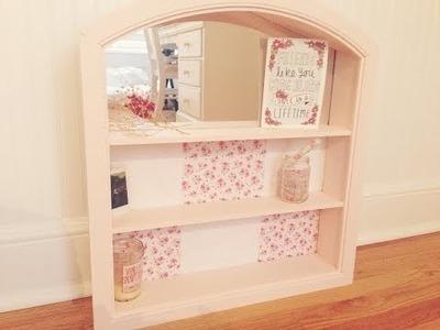 DIY Shabby Chic Shelf