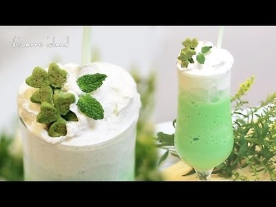 DIY St Paddy's Day Shamrock Frappuccino | d for delicious