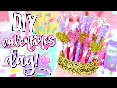 DIY Valentines Day GIFT IDEAS, TREATS and DECOR! Cute Easy Ideas! 2016