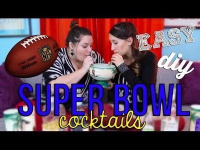Easy DIY Cocktails for the Super Bowl | The Storyverse Skinny