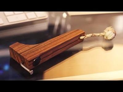 Easy DIY Wooden Bottle Opener