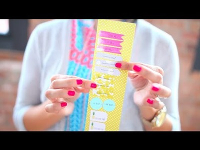 Easy Planner DIY: How to Make Your Own Sticky Notes