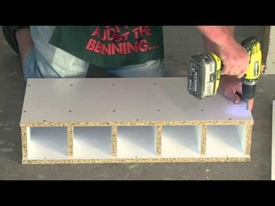 How To Assemble A Wine Rack - DIY At Bunnings