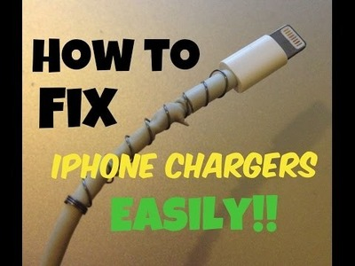 How To Fix Any Phone Charger DIY