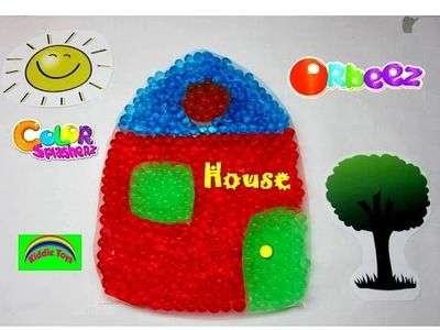 Orbeez House Creation Kids Science Polymer Water Balls Toy House DIY - Kiddie Toys