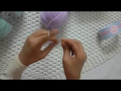 Beginner Crochet: How to Hold a Crochet Hook and chain stitch - lossen 2