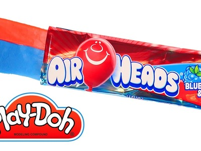 DIY AirHeads Candy Play-Doh How To by DCTC * Playdough Food videos 2016