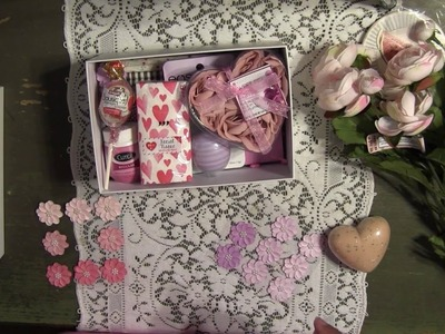 DIY Bridesmaid Gift Box Idea - Thank You - Inexpensive Wedding Gift For Her - Part 1